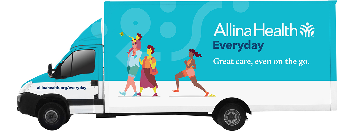 Allina Everyday On Wheels van